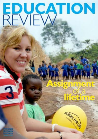 Education Review magazine cover