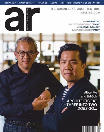 AR Architectural Review Asia Pacific magazine cover