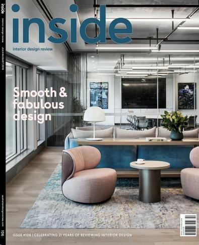 (inside) Interior Design Review magazine cover