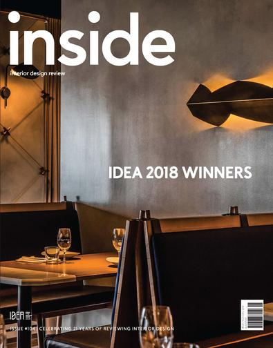(inside) Interior Design Review magazine cover