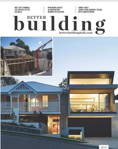 Better Building magazine cover