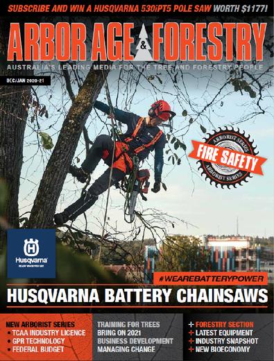 The Australian Arbor Age magazine cover