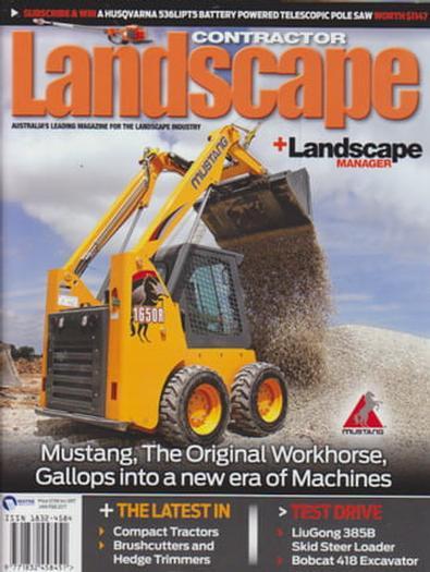 Contractor Landscape + Landscape Manager magazine cover