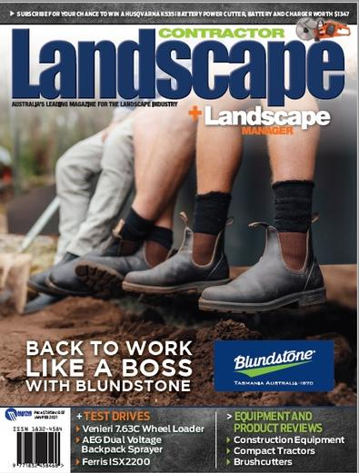 Landscape Contractor + Landscape Manager magazine cover