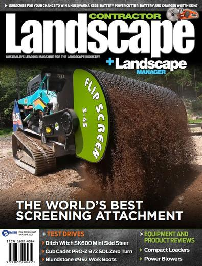 Landscape Contractor + Landscape Manager magazine cover