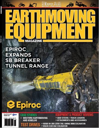 Earthmoving Equipment Review Magazine cover