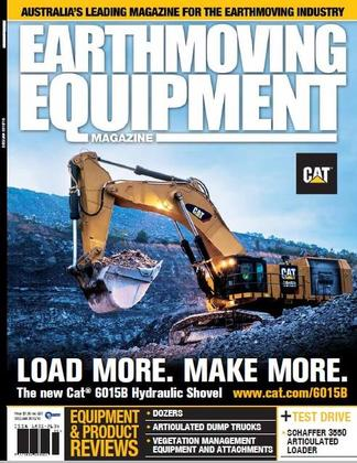 Earthmoving Equipment Review Magazine cover