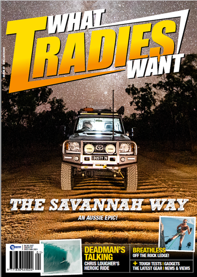 What Tradies Want magazine cover