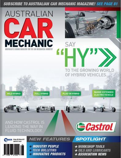 Australian Car Mechanics Magazine cover