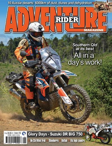 Adventure Rider magazine cover