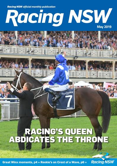 Racing NSW magazine cover