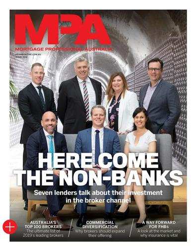Mortgage Professional Australia magazine cover