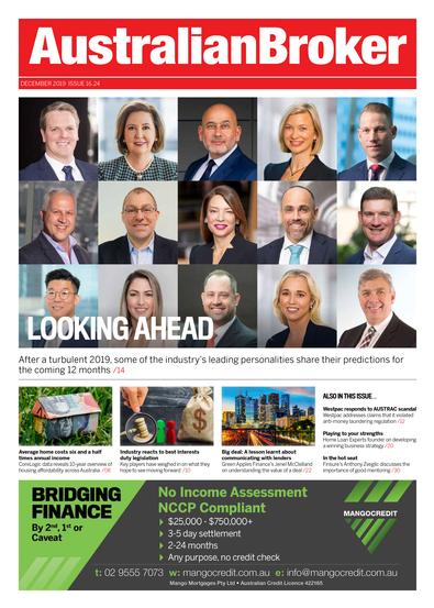 Australian Broker magazine cover