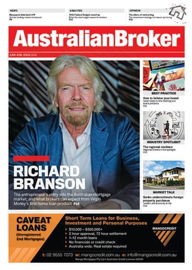 Australian Broker magazine cover
