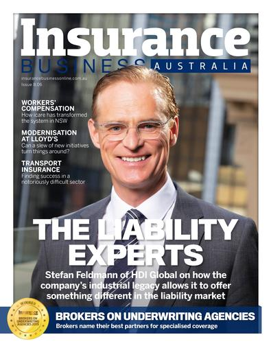 Insurance Business magazine cover