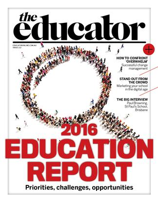 The Educator magazine cover