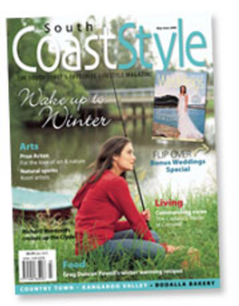 South Coast Style magazine cover