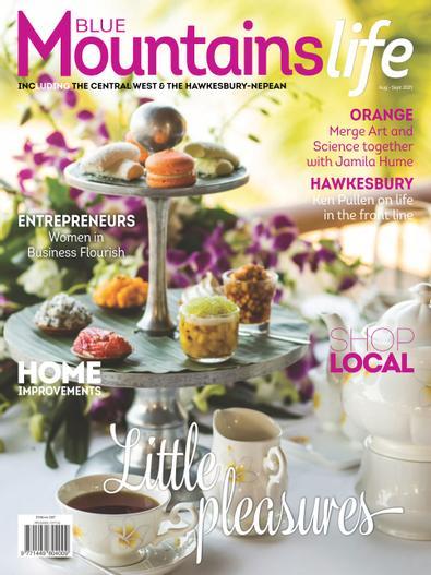 Blue Mountains Life magazine cover