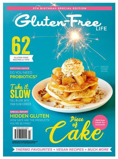 Australian Gluten-Free Life magazine cover