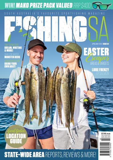 Fishing SA magazine cover
