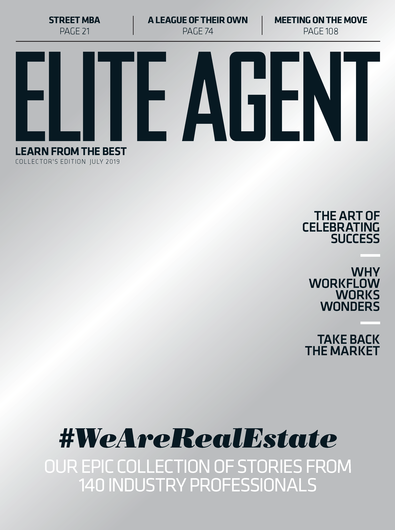 Elite Agent magazine cover