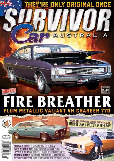 Survivor Car Australia magazine cover