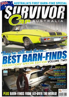 Survivor Car Australia's Barn Find special issue cover
