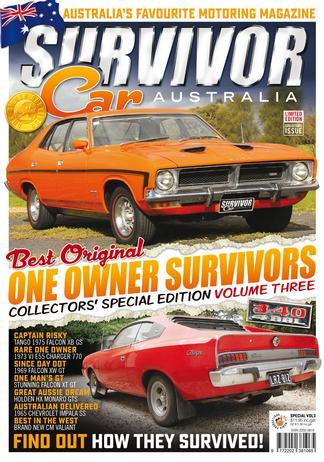 Survivor Car Australia - Special Edition Vol 3 cover
