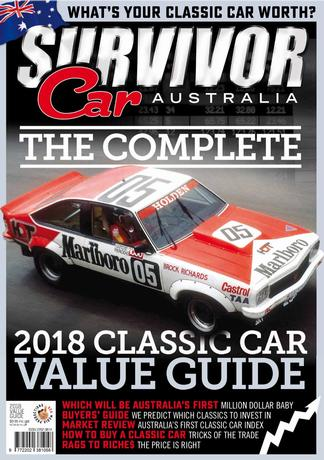 The Complete 2018 Classic Car value guide cover
