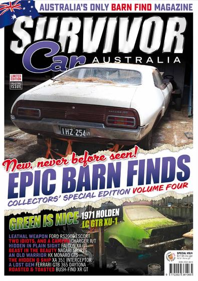 Epic Barn Finds Volume 4 cover