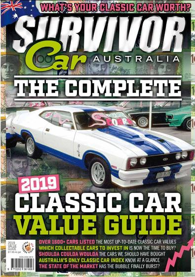 The Complete 2019 Classic Car Value Guide cover