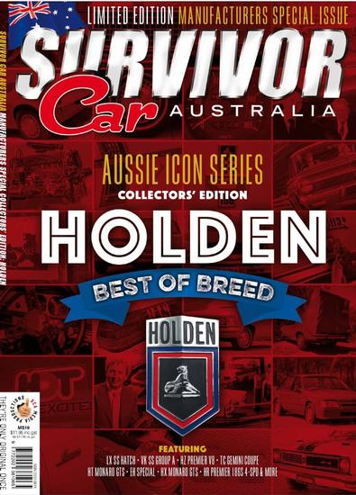 Holden - Best of Breed magazine cover