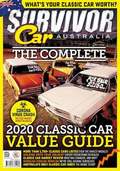 The Complete 2020 Classic Car Value Guide cover