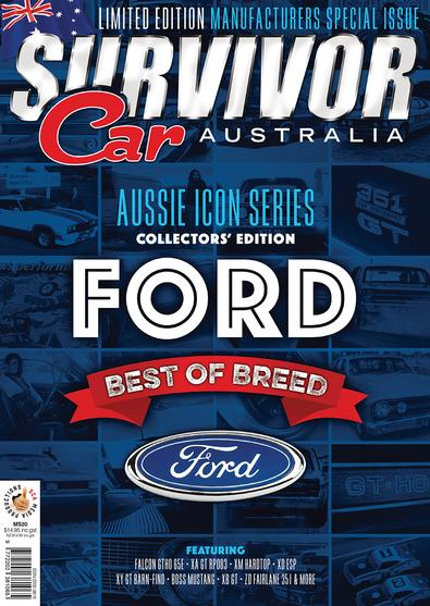 Survivor Car Ford: Best of Breed magazine cover
