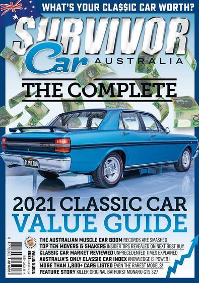 2021 Classic Car Value Guide magazine cover