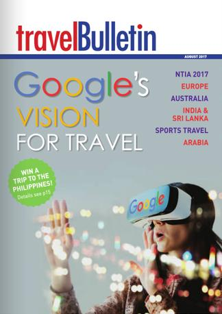 Travel Bulletin magazine cover