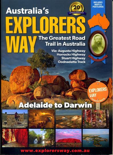 Australia's Explorers' Way cover