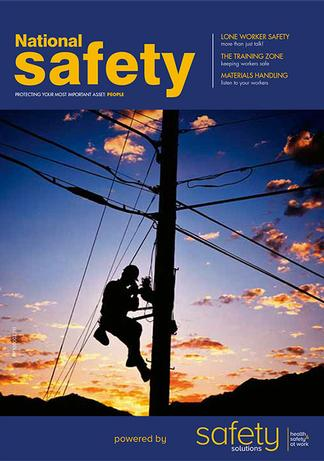 National Safety magazine cover
