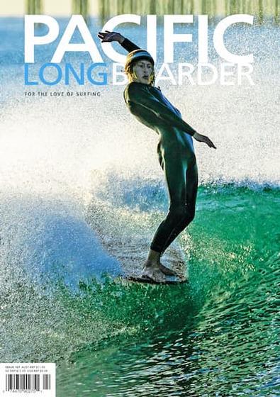 Pacific Longboarder Magazine cover