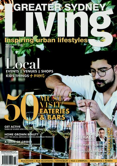 Greater Sydney Living magazine cover