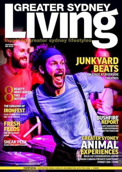 Greater Sydney Living magazine cover