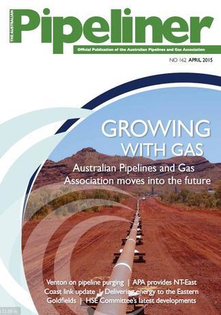 The Australian Pipeliner magazine cover