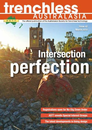 Trenchless Australasia magazine cover