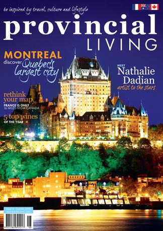 Provincial Living magazine cover