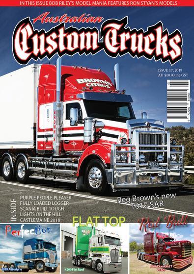 Australian Custom Trucks magazine cover