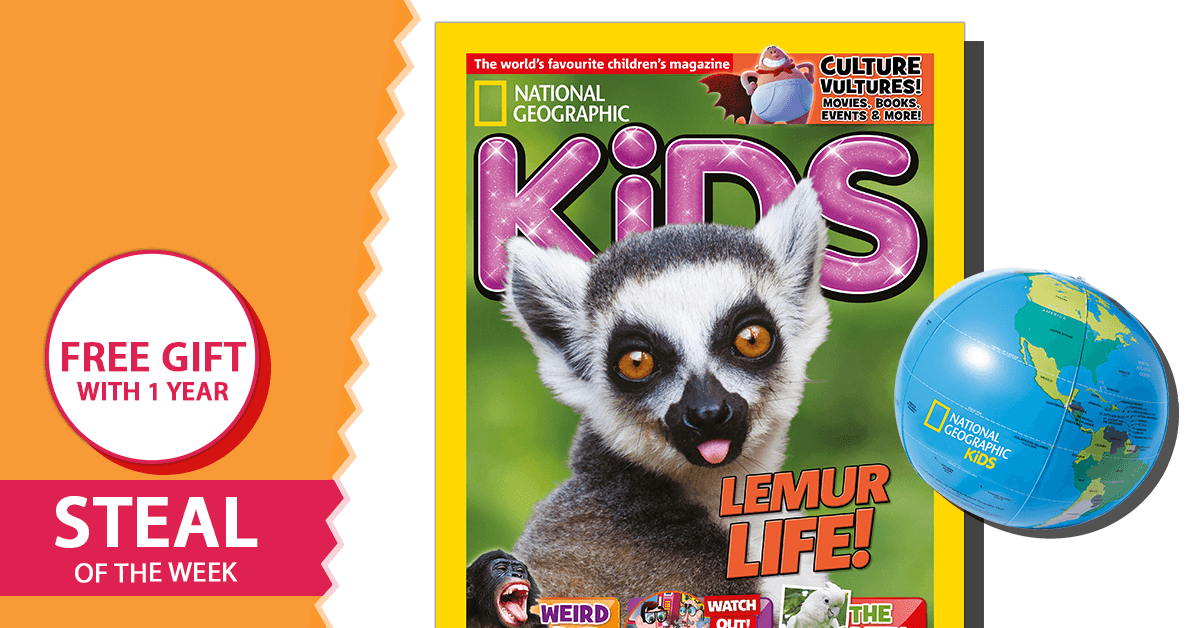 National Geographic Kids Magazine Subscription - isubscribe