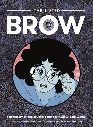 The Lifted Brow magazine cover
