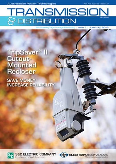 Transmission and Distribution magazine cover