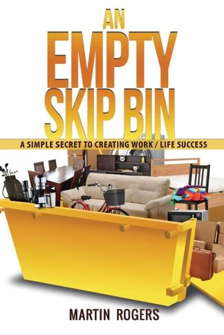 An Empty Skip Bin cover
