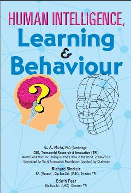 Human intelligence, learning & behaviour cover